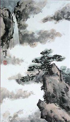 Chinese Landscape Brush Painting