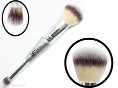 It Cosmetics Heavenly Luxe Dual-Ended Complexion Perfection Brush-cruelty free!
