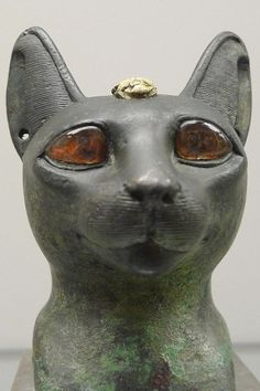 Bust of Bastet - British Museum