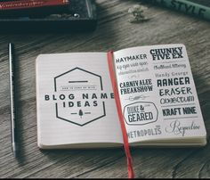 DIY Guide Part II: How To Come up with Creative Blog Name Ideas that are Meaningful  |  Picking Blog Names