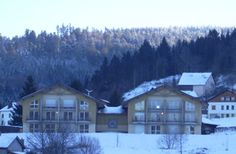 Résidence Blue Line (Gerardmer) Stations De Ski, Skiing, Cabin, Mansions, House Styles, Home, Ski, Manor Houses, Cabins