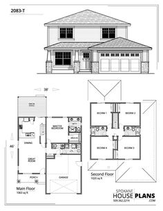Exterior of new addition and existing mobilehome Mini House Plans, Square House Plans, Two Storey House Plans, Free House Plans, Duplex House Plans, Bedroom House Plans, Craftsman House Plans, Contemporary House Plans, Modern House Plans