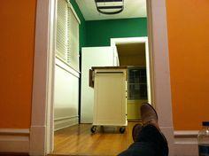 Kitchen view by TheEmptyHouseStudio, via Flickr