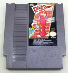 Who Framed Roger Rabbit for NES Nintendo Cart Only Roger Rabbit, Cart, Nintendo, Games, Store, Ebay, Tent, Shop Local, Larger