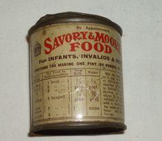 Savory & Moore's Baby food tin - England