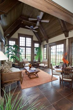 Beautiful, open sun room.