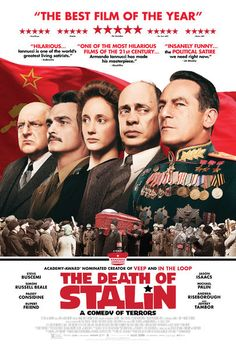 The one-liners fly as fast as political fortunes fall in this uproarious, wickedly irreverent satire from Armando Iannucci (Veep, In the Loop). Moscow, 1953: when tyrannical dictator Joseph Stalin drops dead, his parasitic cronies square off in a frantic power struggle to be the next Soviet leader. Among the contenders are the dweeby Georgy Malenkov (Jeffrey Tambor), the wily Nikita Khrushchev (Steve Buscemi), and the sadistic secret police chief Lavrentiy Beria (Simon Russell Beale). But as…