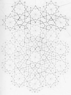 Geometric Designs, Islamic Designs, Geometric Patterns, Geometry Art, Sacred Geometry, Geometric Drawing, Spirograph, Fabric Rug, Arabesque