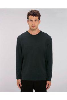 Tričká s dlhým rukávom od Etikbutik Men Sweater, Long Sleeve, Sleeves, Sweaters, Mens Tops, T Shirt, Fashion, Supreme T Shirt, Moda