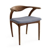 I rather like these american walnut chairs