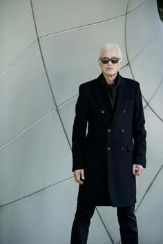 Jimmy Page, photographed by Ross Halfin, May 14, 2014, New York City.