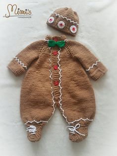 Gingerbread man costume Christmas costume Photoshooting ideas