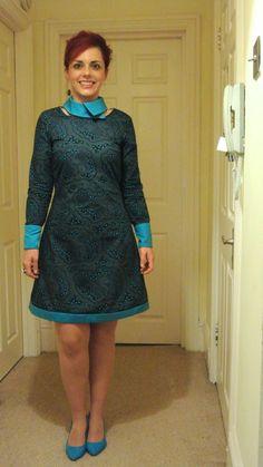 The Simple Sew Brigitte dress