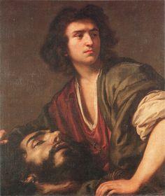 Nicolas Régnier, David with the Head of Goliath, century Spanish Netherlands, Caravaggio, Gay Art, Museum Of Fine Arts, National Museum, 17th Century, Artwork, David, Paintings