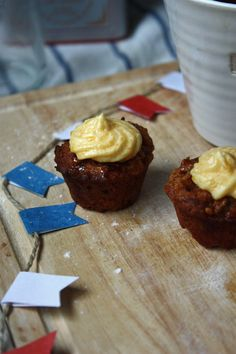 Afternoon Tea for Two: Sticky Toffee Pudding Cupcakes