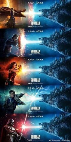 Godzilla funny - ok sure geek Avengers Humor, Funny Marvel Memes, Dc Memes, Marvel Jokes, Memes Humor, Funny Comics, Marvel Heroes, Really Funny Memes, Stupid Funny Memes