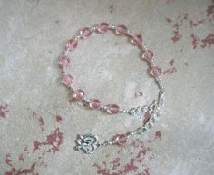 Aphrodite Prayer Bead Bracelet: Greek Goddess of Love and Beauty by HearthfireHandworks on Etsy