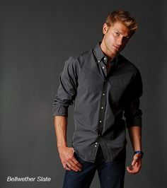 Todd Shelton has American made men's shirts, pants, t-shirts, jeans and vests.  $124