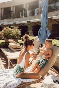 HelloFashionBlog: California Vacation Fun w/ My Little Beckam. Palm Tree Swimwear and Organic Snacks