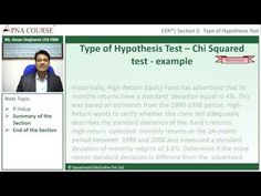 Learn the Steps Involved In Calculating Chi Squared With an Example  Learn more concepts related to CFA here.  https://www.apnacourse.com/course/cfa-1