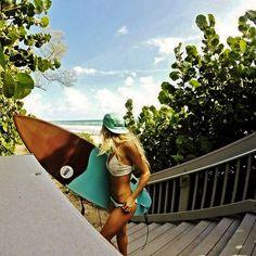 Surf girl... #aBikiniKindaLife