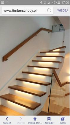House Staircase, Stairs, Stair Risers, Color Pallets, Wall Colors, Christmas Decorations, Cozy, Living Room, Corridor