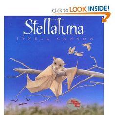 Stellaluna by Janell Cannon.