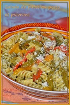 Salade de pâtes au pesto et poivrons : la recette facile