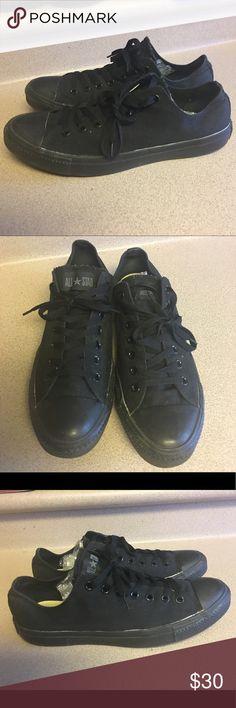hot sale online 2a2aa b3fe4 Converse Black Top Canvas Sneakers Men s 10.5 PreOwned Converse Black Top  Shoes Canvas Sneakers M5039 Men s