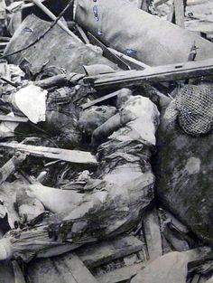 fotografias raras mostrar o rescaldo de Hiroshima após a bomba atômica | Daily Mail on-line