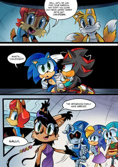 Baby Silver The Hedgehog Comic
