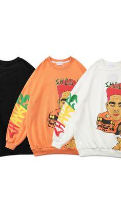 Crew Neck Sweatshirt, Hip Hop, Unisex, Sweatshirts, Sweaters, Jackets, Fashion, Down Jackets, Moda