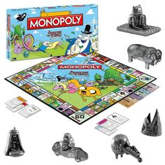 Monopoly- the perennial favorite, comes in more varieties than Baskin Robbins ice cream. Makes you feel warm and fuzzy, except when you don't get Boardwalk and Park Place.