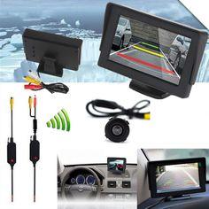 Dagaanbieding: €44,95 ipv €69,95 - Achteruitrij camera: Met externe LCD scherm