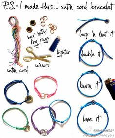 easy to make bracelet and super CUTE!!!!!!!!