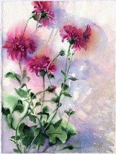 Chrysanthemum 2 by OlgaSternik.deviantart.com on @DeviantArt