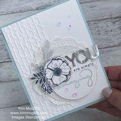 Monochromatic Amazing You Card