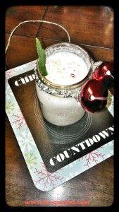 Vegan Santa Peppermint Shake!