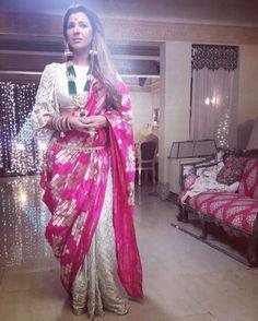 Indian Dress Up, Indian Attire, Indian Outfits, Choli Dress, Saree Gown, Saree Wearing Styles, Saree Styles, Saree Blouse Neck Designs, Lehenga Designs