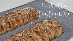 Leikattu täytepitko - YouTube Banana Bread, Pork, Food And Drink, Make It Yourself, Youtube, Desserts, Instagram, Kale Stir Fry, Tailgate Desserts