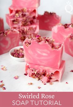Swirled Rose Soap Tutorial