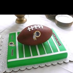 Redskins Football Cake - Google Search