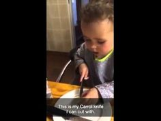 Our youngest Carrol Boyes fan, Ylva Van Rooyen, just 2 years old. She just loves her 'Carrol mes (knife)'. Just Love, Love Her, Cute Toddlers, Van, Cute Kids, Vans, Vans Outfit