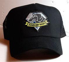 Metal gear #diamond dogs logo #baseball/trucker #style cap/hat w patch- ,  View more on the LINK: http://www.zeppy.io/product/gb/2/381624453439/