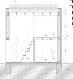 archiweb.cz - Zahradní domek Portal, Bar Chart, Floor Plans, Diagram, Bar Graphs, Floor Plan Drawing, House Floor Plans