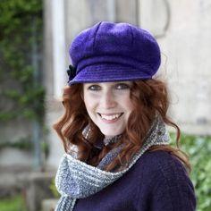 Ladies Irish Hat Purple