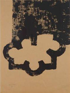 """Eduardo Chillida, """"La casa de Goya"""", 1983"""
