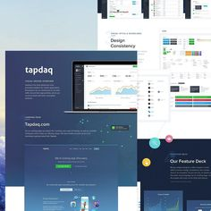 Today Im sharing my longest ongoing project - an overview covering the main aspects of my work at Tapdaq. Ive been a part of the Tapdaq team for 15 months and in that time weve done a huge amount of work. Weve redesigned everything from the landing page blog/support pages and the developer dashboard through to small pieces like our keynotes and business cards.  I've prepared a visual overview on Behance and Im excited to hear what you guys think about it. Theres a hell of a lot of blue…