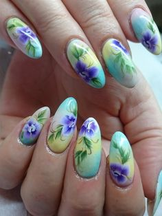 Day 230: Flowers & Lace Nail Art
