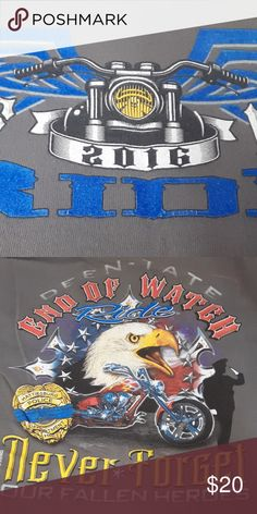 Shop Men's UK White Blue size XS Tees - Short Sleeve at a discounted price at Poshmark. Description: End of Watch (UK) Never Forget Our Fallen Heroes C. Uk Shirts, Fallen Heroes, Forget, Man Shop, Watch, Tees, Sleeve, Closet, Things To Sell